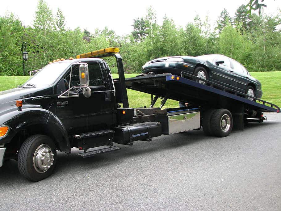 Tow Truck service Flatbed